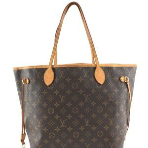 Louis Vuitton Neverfull Classic Mm Shoulder Tote